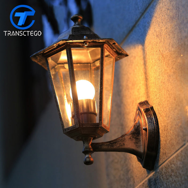 style wall lamp outdoor lights villa balcony garden lamps waterproof