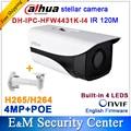 Original Dahua stellar camera 4MP DH-IPC-HFW4431K-I4 replace IPC-HFW4431F Network IP CCTV 4IR Bullet H265 H264 IPC-HFW4431K-I4