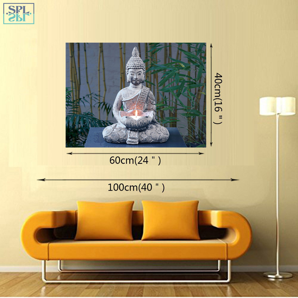 SPLSPL Buddha Zen Wall Art Picture Unframed Single Piece Poster ...