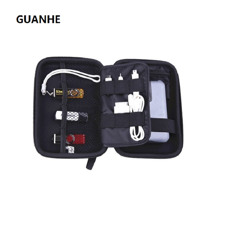 GUANHE Zipper Case Bag Protector Do 2,5-calowego twardego dysku Passport Ultra / Slim / Enterprise Hard Case Torba na Western WD