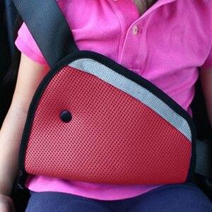 Лидер продаж, 1 шт., автомобильный Детский защитный чехол, держатель для плечевого ремня безопасности, регулируемый, устойчивый, защита, высо...