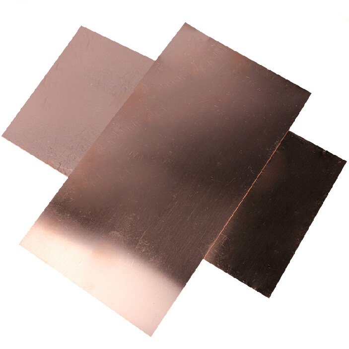 100 x 100 x 0.5 mm(L x W x H)Copper Sheet Notebook Thermal Pad The Video Card Heatsink Pure Copper Tablets Can be Directly Used