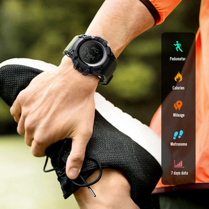 Image 2 - SKMEI S הלם צבאי ספורט שעונים מצפן מד צעדים קלוריות זכר שעון דיגיטלי עמיד למים אלקטרוני שעונים גברים שעוני יד