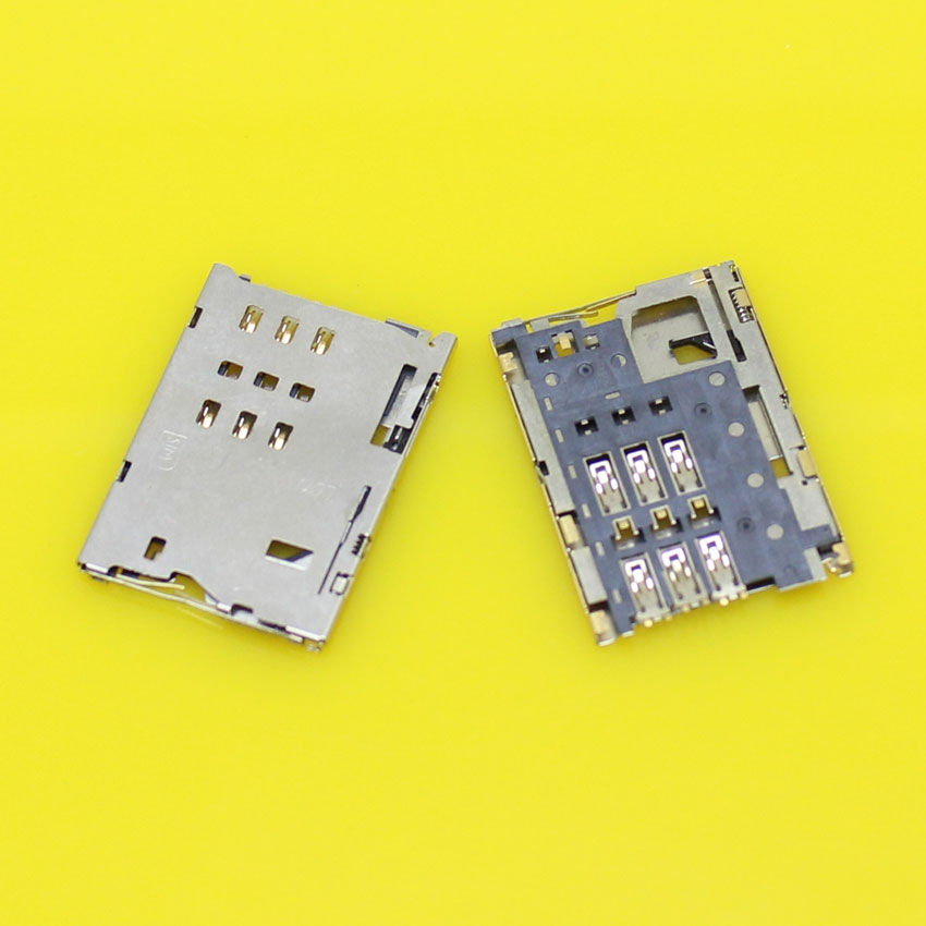 Brand New,2pieces sim card adapter holder socket connector for Lenovo A3300 tablet PC.