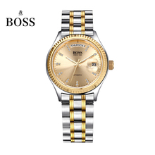 BOSS Germany watches men luxury brand daydate series automatic self-wind mechanical golden stainless steel relogio masculino
