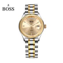 БОСС Германии часы мужчины люксовый бренд daydate серии автоматические self-wind механические золотой нержавеющей стали relogio masculino