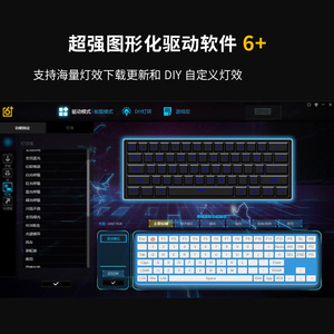 Image 2 - GK61 hot swap PCB mechanical keyboard GH60 RGB Backlight independent driver tyce c interface Musical rhythm Customization kit