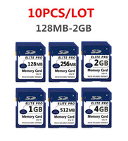 10 X 128MB 256MB 512MB 1GB 2GB SD Card SD Memory Card Secure Digital Flash Memory Card,Original SD Card