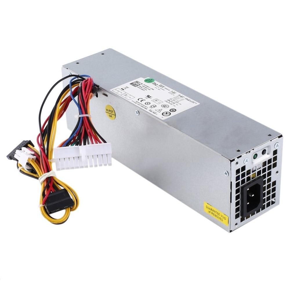 240W Desktop Power Supply Car Unit PSU for Dell Optiplex H240ES-00 H240AS-00 AC240ES-00 AC240AS-00 L240AS with Cooling Fan J18C2 free ship 240w power supply for 790 990 3010 7010 sff 240w h240as 00 l240as 00 3wn11 2txym cv7d3