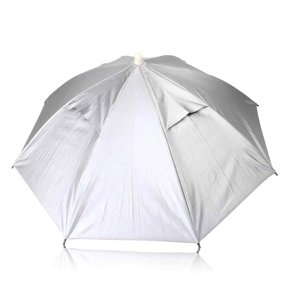 Зонт для рыбалки Зонтик Голова Зонты рыболовные Крепление на голову Крепится на Голове Свободные руки Защита от дождя и солнца Компактные зонт на Голову ВСЕ ДЛЯ РЫБАЛКИ Аксессуары для рыбалки Принадлежности