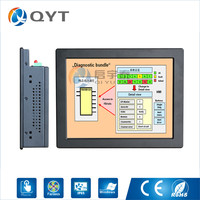 10 4 Mini Embedded Panel Pc Inter J1900 2 0GHz With RS232 4USB All In One