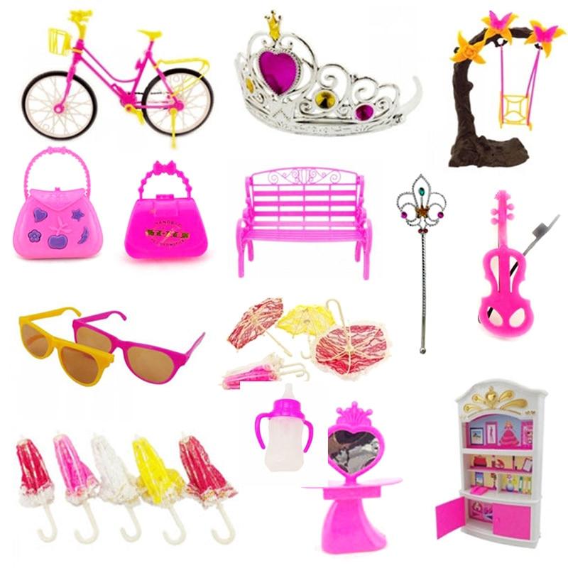 55Pcs Baby & Toddler Toys Creative Cartoon Designed Doll Kurhn Jenny Dolls DIY Toy Accessory -17 BM88 10pcs lot cartoon animal finger puppet finger toy finger doll baby dolls baby toys animal doll