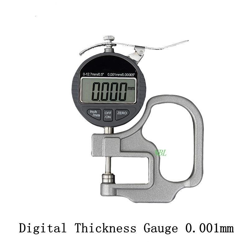 Medidor de espesor de 0.001 mm Digital Medidor de espesor de 10 mm - Instrumentos de medición - foto 2