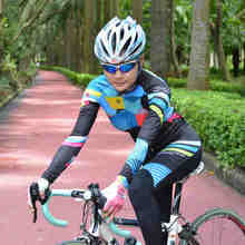 new women bike long-sleeved Warm cycling bicycle clothe Autumn And Spring for women's jersey