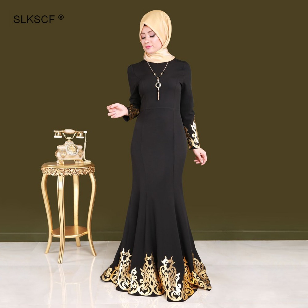 78ffa08aa معرض black & gold abayas بسعر الجملة - اشتري قطع black & gold abayas بسعر  رخيص على Aliexpress.com