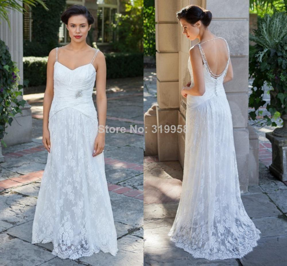 hot sale nitree 2016 sexy sweetheart spaghetti strapless girls beach summer country lace girls formal wedding