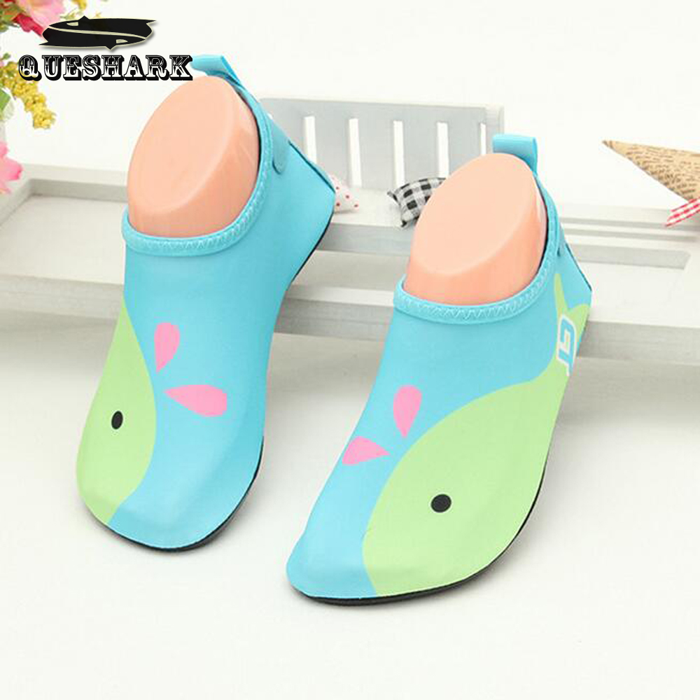 Children Swimming Fins Diving Socks Snorkeling Boots Neoprene Wetsuit Prevent Scratche Warming Non-slip Shoes Seaside