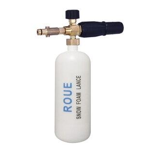 Image 2 - Rue marca nova lança de espuma para nilfisk arredondado encaixe para nilfisk gerni stihle arruelas de pressão novo tipo de espuma de neve lança