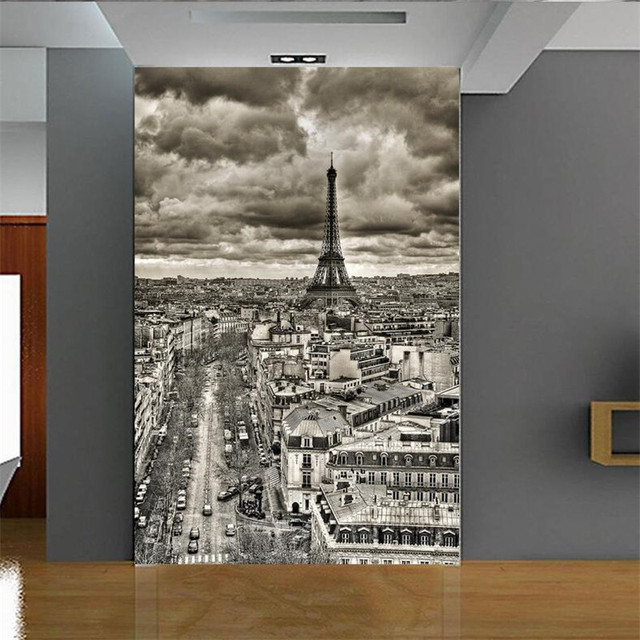 photo wallpaper quality flash silver cloth european modern