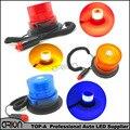Горячая DC12V тележки автомобиля магнитный предупреждение строб маяк аварийного освещения полиции огни лампы синий красный