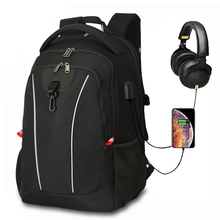 Super Large Business Backpacks Male big capacity USB headphone coded bags Pack men Travel Schoolbags 17.3 inch laptop Commuting