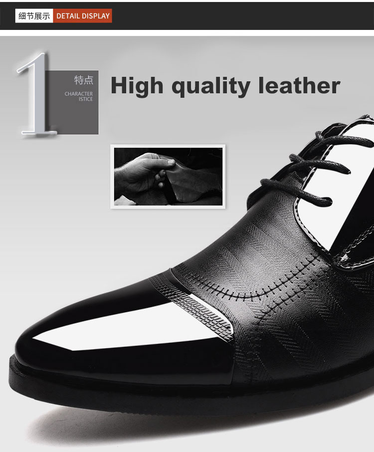 Luxury Business Oxford Leather Shoes 10