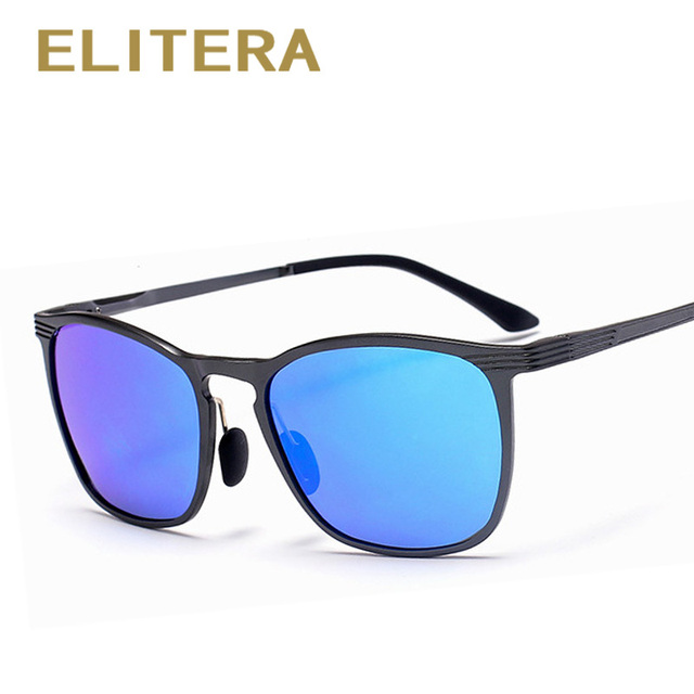 ELITERA Tons de Óculos De Sol Dos Homens Óculos Polarizados de Alumínio E Magnésio Masculino óculos de sol óculos de Condução Ao Ar Livre óculos de Sol Novos homens