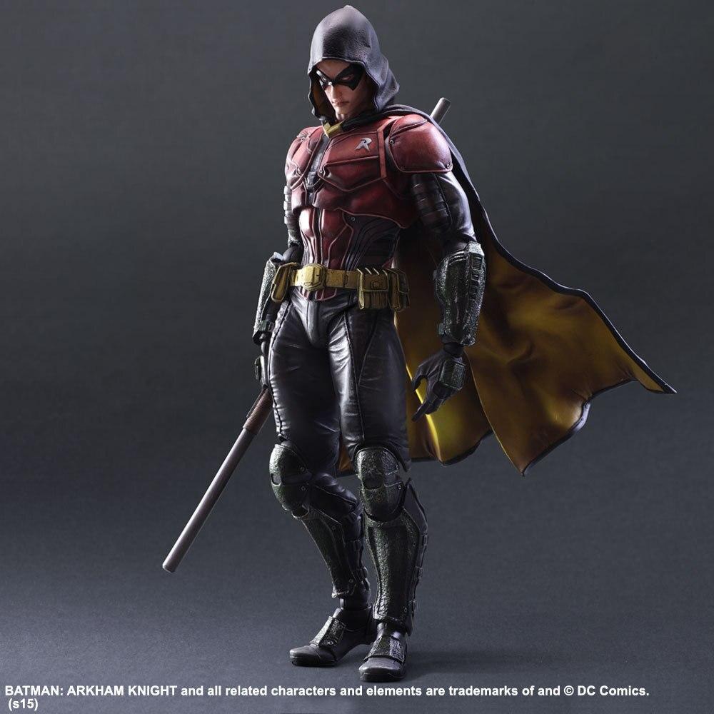 Movie Figure 28 CM Justice league batman Robin PVC Action Figure Toys Collections Brinquedos Model