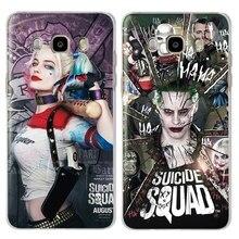 The Avengers Marvel&DC Joker Phone Back Case Cover For Samsung Galaxy J3 J5 J7 2017 2016 2015 Eu Version J2 J5 Prime G532 G570