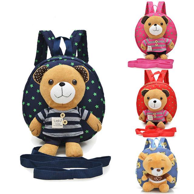 Versão coreana do sacos de escola do jardim de Infância das crianças dos desenhos animados meninos e meninas 1-3 anos de idade do bebê bagsShoulder anti-perdido perdido