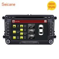 Seicane 7 автомобильный DVD радио плеер Мультимедиа клейкие ленты регистраторы для Фольксваген мужские Поло Tiguan Гольф плюс Passat b5 b6 Skoda Yeti Superb