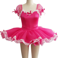 2018 Real Vestidos Largos Dance Costumes Tutu Dress Kids Professional Dancewear For Women Justaucorps De Danse Pour Les Femmes