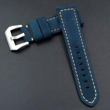 רצועת השעון עור אמיתי 22 מ