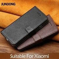 Flip Phone Case For Xiaomi Mi 5s 6 8 9 A1 A2 lite Max 2 3 Mix 2s case Litchi Texture Cover For Redmi Note 4 4X 4A 5 Plus case