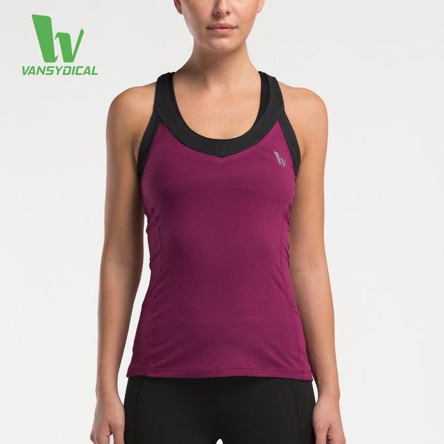 Chegam novas Verão Mulher Ao Ar Livre Elástica Top T Tanque Camisa Secagem rápida Magro Musculação Aptidão Colete Sem Mangas Ocasional Das Mulheres