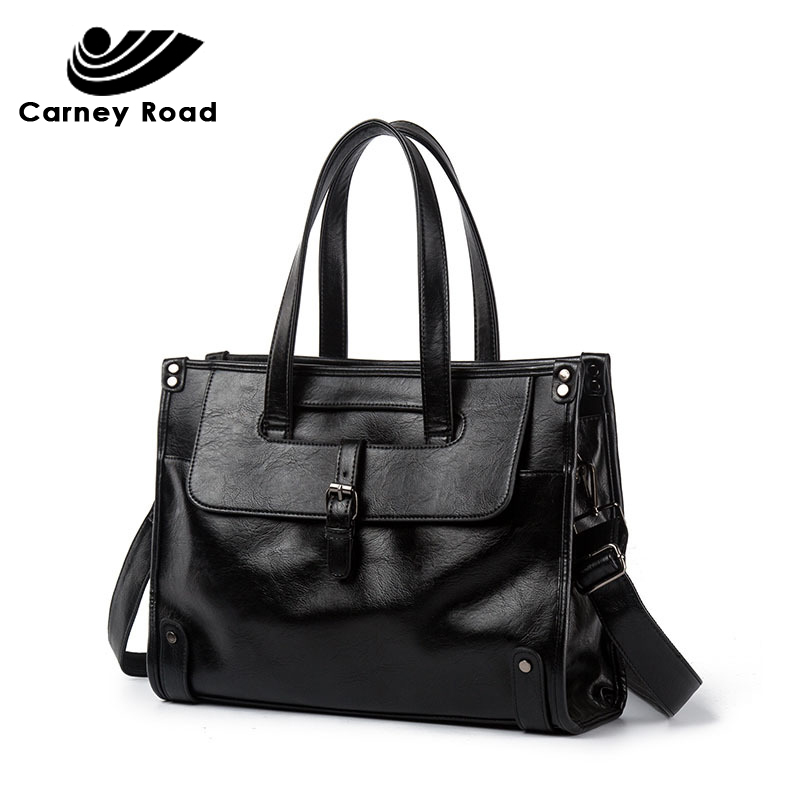 High Quality Luxury Brand Leather Men Briefcase Fashion Office Business Handbag 14 Inch Laptop Bag Shoulder Messenger Bags