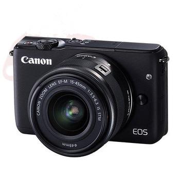Canon M10 dijital kamera EF-M15-45 IS STM Objektif Kiti Canon EOS M10 Aynasız dijital kamera