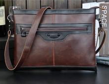 คุณภาพหนังม้าคนกระเป๋าแฟชั่นย้อนยุคmessengerกระเป๋าสะพายกระเป๋าหรูสำนักงานพาณิชย์IPADbagแพคเกจ