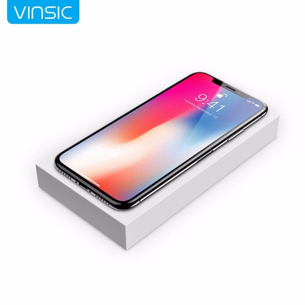 Vinsic 2 in1 Qi Wireless-ladegerät 12000 mAh Energienbank Dual Smart Usb-anschluss Externe Mobilen Ladegerät für iPhone 8 8 + X
