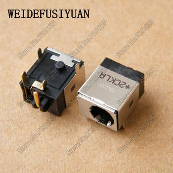 10 sztuk AC zasilania DC kabel typu jack Port ładowania gniazdo wtykowe dla Asus N53 N53J N53SV N53JF N53S N53SN N53JQ N10E n71 N71J N71V serii