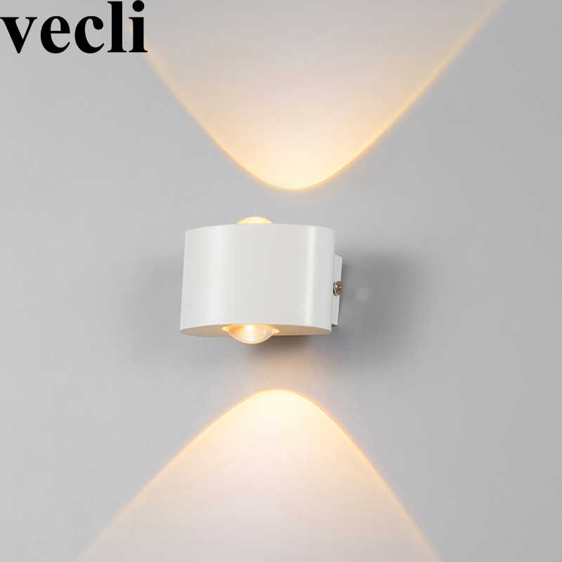 Waterproof fashion decorative wall lights black/white buitenverlichting community villa residential balcony exterior wall lamps