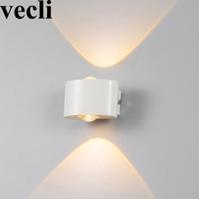 Waterproof fashion decorative wall lights black/white buitenverlichting community villa residential balcony exterior wall lamps fashion outside decorative wall light waterproof buitenlamp residential villa outdoor lighting villa corridor balcony wall lamp