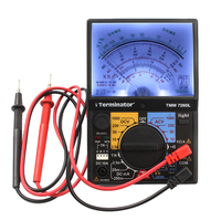 Analog multimeter 7260L AC DC Volt Ohm current Testing Electrical Multitester with light