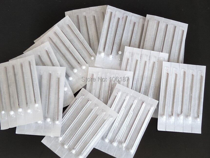 15G Body Piercing Sterile Needles Supply 100 pcs For Ear Nose Navel Nipple