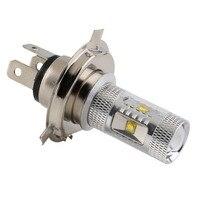 1Pc COB LED H4 30W Pure White Car Fog Head Light Signal Tail Parking Bulb Lamp DC 12V 24V H4 LED Car Light Hot