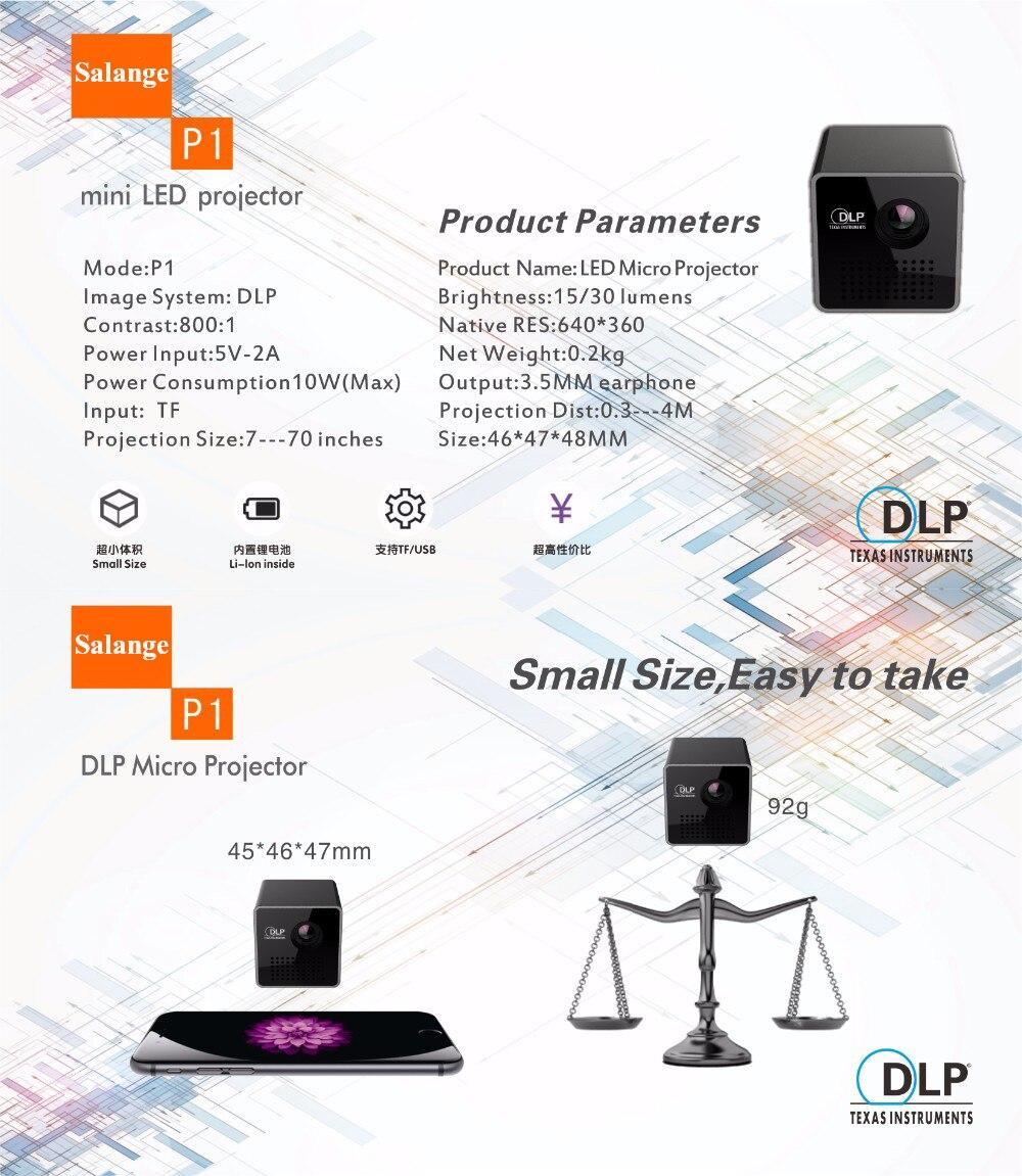 UNIC P1 Pico Portable Projector (5)