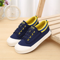 2017 Cool Canvas Classic Casual Toddler First Walkers Hot Sales High Quality Boys Girls Shoes Lace