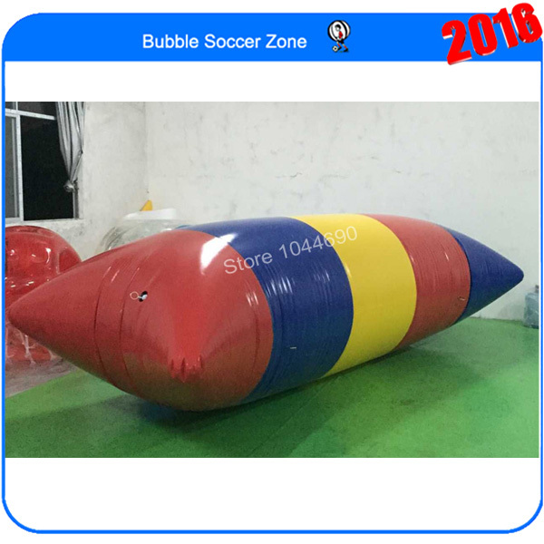 Free shipping cheaper price 5m*2m jumping bag blob, inflatable water blob for sale  (Free pump+ repair kits)