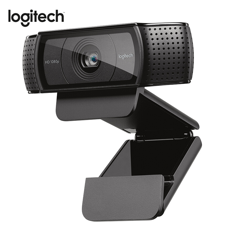 logitech c920 Pro <font><b>Web</b></font> Camera FULL HD <font><b>1080P</b></font> Webcam Support Official Test with 15 Million Pixels CMOS 30FPS USB <font><b>CAM</b></font> image
