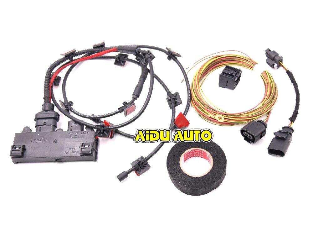 Easy Open System Foot Sensor Wire For VW Passat B6 B7 B7L CC ветровики prestige vw passat b6 sd 06